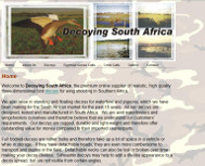 Decoying South Africa